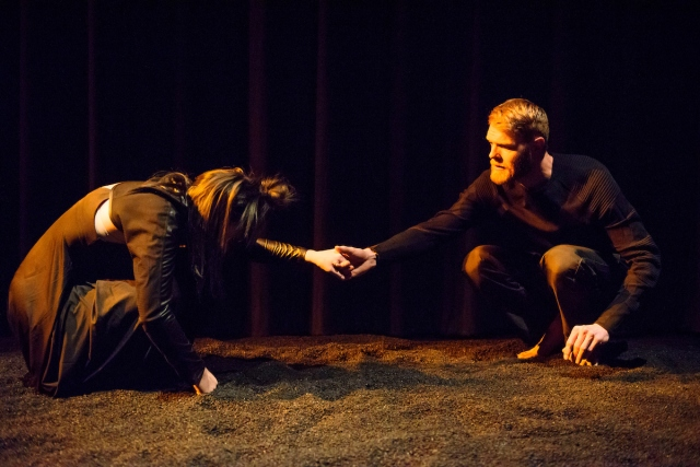 Ainsley Hillyard and Christopher Schulz in Wish at Northern Light. Photo by Ian Jackson, Epic Photography.