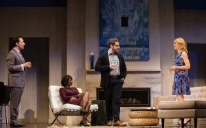 Karen Glave and Michael Rubenfeld in Disgraced, Hope and Hell Theatre production at the Citadel. Photo supplied.