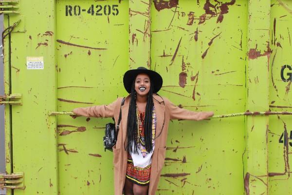 multi-disciplinary artist/activist Nasra Adem