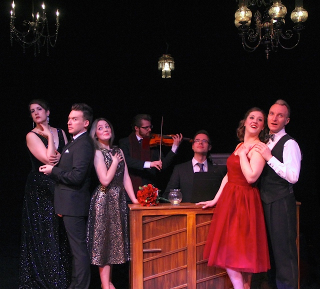 The Plain Janes' musical revue Ah, Romance!. Photo by Janna Hove.
