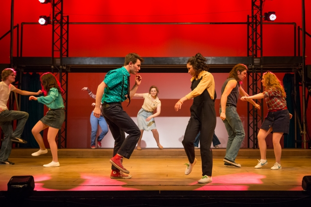 Footloose at MacEwan University, directed by Dave Horak. Photo by Steven Stefaniuk.