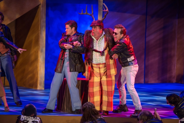 The women run the show: The Merry Wives of Windsor are having a blast in the park