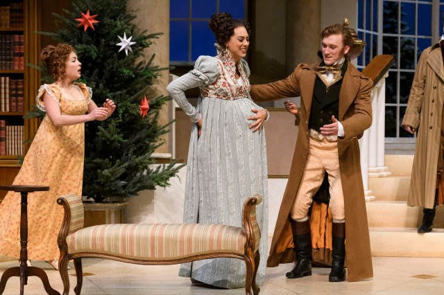 Christmas At Pemberley.My First Happy Play Nancy Mcalear Makes Her Citadel